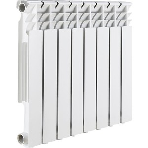 цена на Радиатор отопления ROMMER Optima BM 500 биметаллический 8 секций