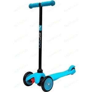 Самокат 3-х колесный Y-Scoo mini A-5 Simple цв. blue с цветными колесами y scoo самокат maxi a 20 simple цв red