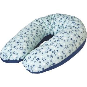 Подушка для кормления Ceba Baby Multi Stars трикотаж W-741-000-515 подушка для кормления ceba baby physio multi велюр stars blue