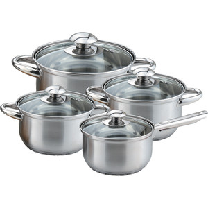 Набор посуды 4 предмета Kelli KL-4202 набор кастрюль 3 предмета kelli kl 4246