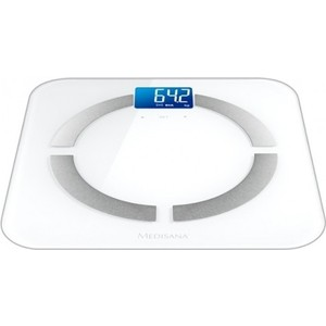 Весы напольные Medisana BS 430 Connect белый цена 2017