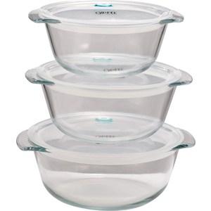 Набор жаропрочных контейнеров 3 предмета Gipfel Bomus (9516) набор мерных ковшей 3 предмета gipfel comely 6153