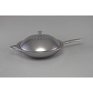 Сковорода WOK с крышкой Stahlberg d 32см Deluxe (1256-S) цена