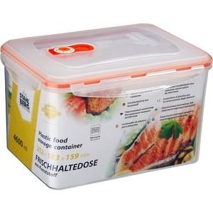 Контейнер вакуумный для продуктов 4.6 л Stahlberg Оранжевый (4260-S) контейнер вакуумный stahlberg 4325 s 0 85л