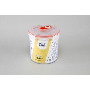 Контейнер вакуумный для продуктов 1.25 л Stahlberg Оранжевый (4268-S) контейнер вакуумный stahlberg 4325 s 0 85л