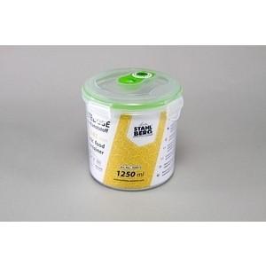 Контейнер вакуумный для продуктов 1.25 л Stahlberg Зеленый (4269-S) контейнер вакуумный stahlberg 4325 s 0 85л