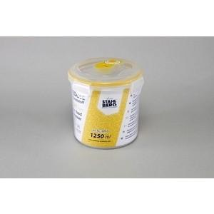 Контейнер вакуумный для продуктов 1.25 л Stahlberg Желтый (4270-S)