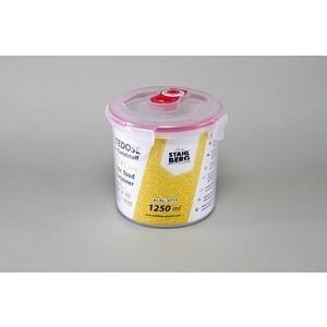 Контейнер вакуумный для продуктов 1.25 л Stahlberg Розовый (4271-S) контейнер вакуумный stahlberg 4325 s 0 85л