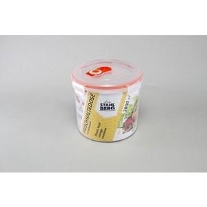 Контейнер вакуумный для продуктов 2.0 л Stahlberg Оранжевый (4276-S) контейнер вакуумный stahlberg 4325 s 0 85л