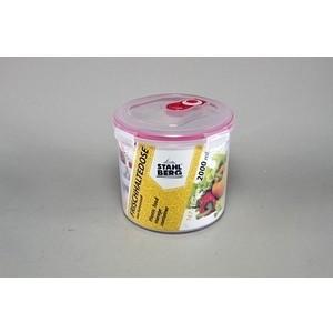 Контейнер вакуумный для продуктов 2.0 л Stahlberg Розовый (4279-S) контейнер вакуумный stahlberg 4325 s 0 85л