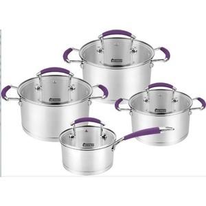 Набор посуды 8 предметов Werner Rocco (0665) набор посуды rainstahl 8 предметов 0716bh