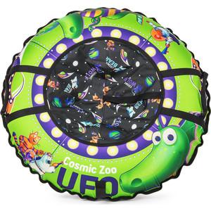 Тюбинг Cosmic Zoo UFO Зеленый (динозаврик) (472063/цв 472064)