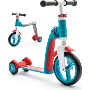 Самокат-беговел Scoot and Ride трансформер Highway Baby Plus Сине-красный (950888/цв 950894)