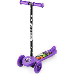 Самокат 3-х колесный Small Rider Cosmic Zoo Scooter Фиолетовый (1233592/цв 1233595)