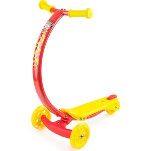 цена на Самокат 3-х колесный Zycom с изогнутой ручкой и светящимися колесами Zipster котенок (1149140/цв 1149159)