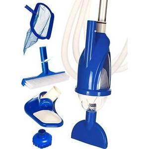 Набор для чистки бассейна Intex 28003 (ручка 279 см, сачок, пылесос, щетка, шланг)