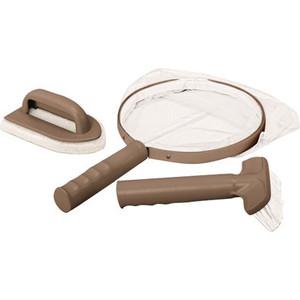 Фото - Набор для чистки Intex 28004 СПА-бассейнов (сачок, щетка, скребок вотерлинии) спа набор 9 seacare спа набор 9