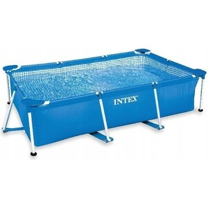 Бассейн каркасный Intex 28271/28271NP Rectangular Frame 260х160х65см цена и фото
