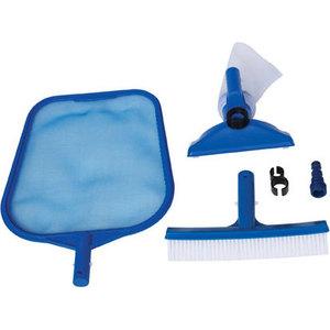Набор для чистки бассейна Intex 29056 до 488 см (сачок, щетка, вакуумная насадка с мешком)