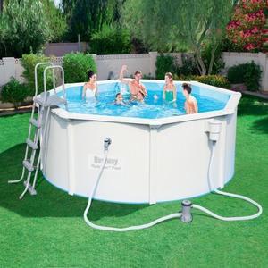 цена на Стальной бассейн Bestway 56571/56292 Hydrium Pool Set 360х120 см