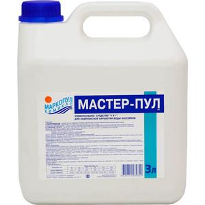 Мастер-пул Маркопул Кэмиклс М21 жидкое безхлорное средство 4 в 1 (3л)