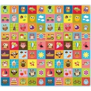 Купить Игровой коврик Mambobaby Совята 200х180х05, Мягкий пол