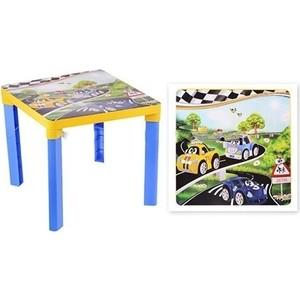 Стол Альтернатива детский Форсаж 2153М пластиковый табурет детский альтернатива алфавит