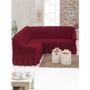 Чехол для углового дивана Juanna (8209 бордовый)