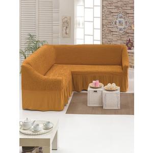 Чехол для углового дивана Juanna (8209 карамельный)