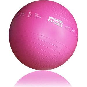 Гимнастический мяч Original Fit.Tools 55 см для коммерческого использования FT-GBPRO-55 гимнастический мяч original fit tools с массажным эффектом 55 см