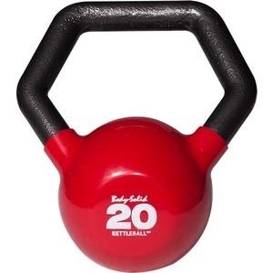 Гиря Body Solid 9,1 кг (20lb) KETTLEBALL KBL20