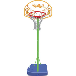 Баскетбольная стойка складная Moove&Fun в чемодане MF-BSTAND01 (SUM-BS02) батут 36 moove