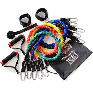 Набор Original Fit.Tools эспандеров трубчатых в защитных чехлах (5 шт.) и аксессуаров сумке FT-EXSET-PRO