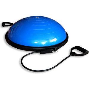 Полусфера гимнастическая надувная Original Fit.Tools R2 с эспандерами и насосом FT-BSU-R2 фото