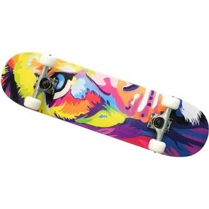 Скейт Moove&Fun Скейтборд клен, цвет C, MP3108-11C скейт пластиковый moove fun 22х6 1 pp2206 1 green