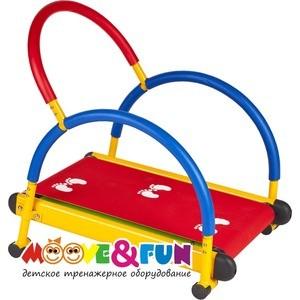 Тренажер детский Moove&Fun механический ''Беговая дорожка'' (TFK-01/SH-01) механический
