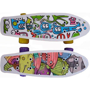 Скейтборд Action CMW019 пластиковый 17''x5''