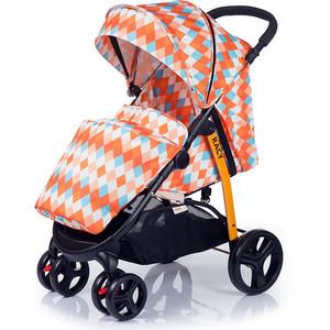 Kоляска прогулочная BabyHit Racy - Оранжевый с ромбами
