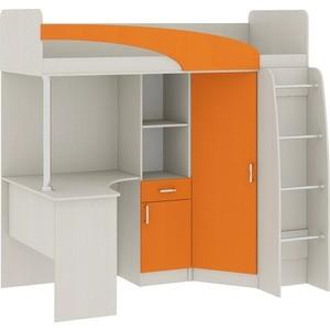 Кровать Атлант Карамель 77-1 Сосна карелия, Оранжевый