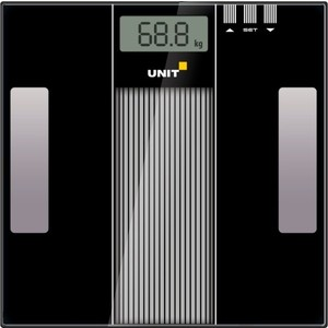 Весы напольные UNIT UBS-2210 чёрный