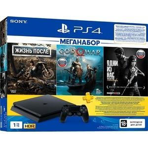 цена на Sony PlayStation 4 1Tb + игры Days gone, God of war, Одни из нас