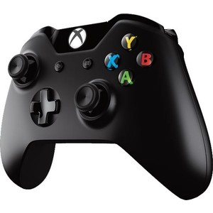 Геймпад Microsoft XBox One беспроводной геймпад черный (6CL-00002)
