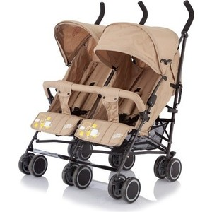 цена на Коляска для двойни Baby Care City Twin (трость), (Khakki) (BT1106T)