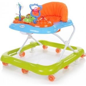 Ходунки Baby Care Mario (GL-800S) Синий/Зеленый (Blue/Green) ходунки baby care sonic yellow blue