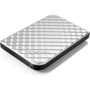 Внешний жесткий диск Verbatim 500Gb StorenGo Silver (53196)