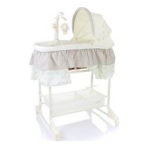 Кроватка Jetem Sweet Dream mobile 3 в 1 3 in 1 Bassinet серый Grey