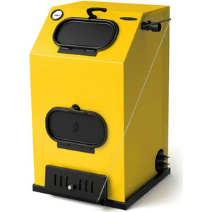 Напольный твердотопливный котел Термофор КВ Прагматик автоматик АРТ под ТЭН (25 кВт) отопительная печь термофор огонь батарея 9 лайт антрацит