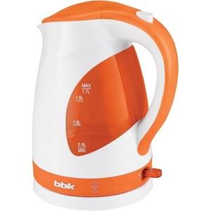 Чайник электрический BBK EK1700P белый/оранжевый цена и фото