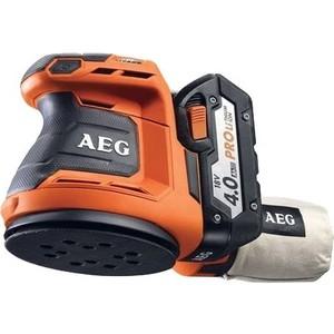 Эксцентриковая шлифмашина AEG BEX18-125-0 цена