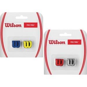Виброгаситель Wilson ProFeel (вулканизированная резина, красно-серебристый) купить недорого низкая цена  - купить со скидкой